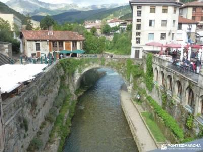 Ruta Cares-Picos de Europa; barrancas de burujon ruta cerro de san vicente pantano de santillana mir